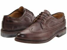 Frye James Wingtip 84627 Brown Leather Men Oxford Shoes NEW Size US 10 11 11.5