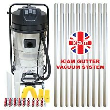 Kiam Gutter Cleaning System Industrial Wet & Dry Vacuum Cleaner & Pole Kit