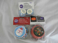 Wilton Holiday Baking Cups Cupcake Liners - You Pick Halloween Christmas Easter
