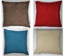 "Plain Chenille Spot Cushion Covers - 17"" X 17""- Perfectly fits 18"" x 18"" Inserts"