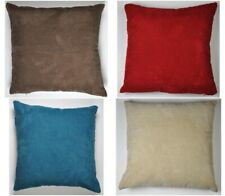 "Plain Chenille Spot Cushion Covers - 17 "" X 17 ""- Perfectly fits 18 inch Inserts"