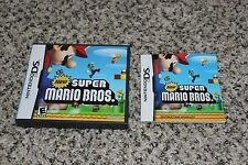 Nintendo DS New Super Mario Bros. *CASE & BOOKLET ONLY* No Game