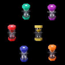 Traditional Colorful Sand Timer Hourglass Cooking Clock Timer Sandglass U Pick
