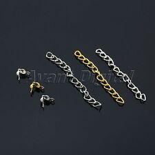 Ball Head Pins Lobster Clasps Chain Beads Jewelry Making Tools Kits DIY Supplies