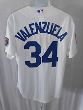 Los Angeles Dodgers Valenzuela  Cooperstown Collection Sewn Jersey White