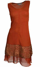 Pretty Angel Clothing Apaprel Danika Tunic In Rust S M L XL 62567