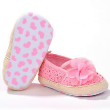Baby Girl Flower Crocheted Crib Shoes Anti-slip Toddler Newborn Shoes 0-18Month1