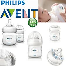 Avent Natural Infant Easy Latch On Anti-Colic Baby Feeding Milk Bottle 125ml