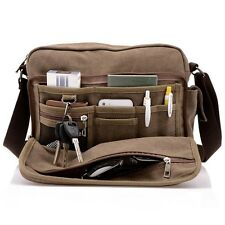 NEW Canvas Men / Women Shoulder Messenger Bag