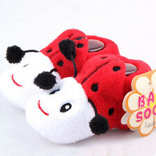 0-12M Cute Newborn Baby Anti-Slip Socks Cotton Slipper Shoes Boots Cartoon Shoes