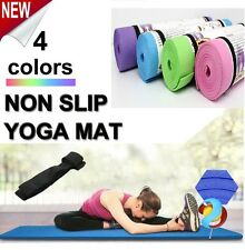 Yoga Non-slip Mat 6MM Thick Exercise Pad Gym Lose Weight Durable Fitness 6