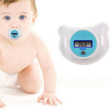Safety Healthy Baby LCD Digital Pacifier Infant Thermometer Temperature Nipple