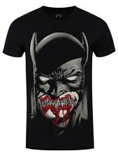 DC Comics Batman Dark Smile Men's Black T-shirt