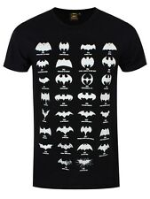 DC Comics Batman Logo Evolution Men's Black T-shirt