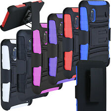 BRAND NEW RUGGED HYBRID CASE COVER BELT CLIP HOLSTER  HTC EVO DESIGN 4G SPRINT