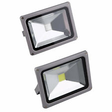 20W LED Outdoor Outside Garden Garage Drive Security Wall Flood RGB Light BG