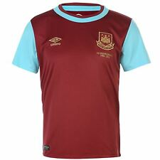 Official Umbro West Ham United Junior Home Jersey 2015-2016, Size: 7-14 Years