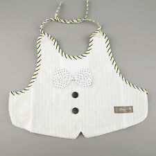 New Waterproof Cute Baby Kid Boy Girl Washble Feeding Bib Cotton Lunch Bibs BG