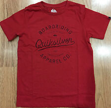 Boys QUIKSILVER Surf Tshirts Assorted Colours Sizes 8 10 12 14 16 BNWOT