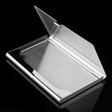 Fads Cool Men Stainless Steel Aluminium Business ID Name Credit Card Holder Case