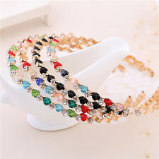 1pcs Fashion Women Crystal Rhinestone Bead Headband Hair Band