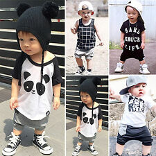 Baby Infant Boy Harem Pants Casual Summer Beach Shorts Elastic Trousers 1-5Years