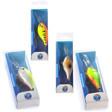 CABO 55mm Wobble Willy - Rattling Minnow Fishing Hard Lure Wiggle Swimbait