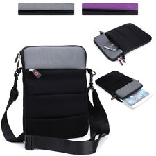 Portable DVD Player Convertible Protective Sleeve and Shoulder Bag Cover NDR21