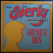 "The Everly Brothers ""Greatest Hits"" Vinyl Record As Seen on TV."