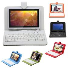 iRULU 7inch Tablet PC Android 4.4 Quad Core 16GB Touch Screen Pad WIFI+ Keyboard
