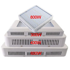 300W-800W Full Spectrum LED Plant Grow Light Panel Hydroponic Indoor Veg Flower