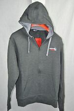 THE NORTH FACE TEAM USA HOODIE MENS OLYMPIC 2016 FULL ZIP GREY AUTHENTIC NEW