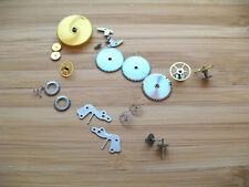 ZENITH 135 ASSORTED NEW OLD STOCK VINTAGE MOVEMENT PARTS