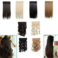 Ladies Long Straight Curly Wavy Wig Halloween Costume Party Cosplay Hair Picec