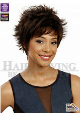 [M718 LIZZY] Bobbi Boss Premium Synthetic Wig Short Cut Flip Hair with Bang