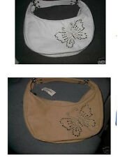 Aeropostale new w/tag KHAKI BUTTERFLY STUD PURSE