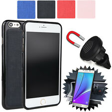 For Apple iPhone 6 6S Plus Magnetic Car Vent Mount & Fitted Case Cover