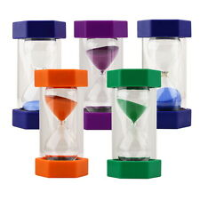 Sand Timer Hourglass Sandglass Egg Timers 10/15/20/30/60 Minutes Cooking BG