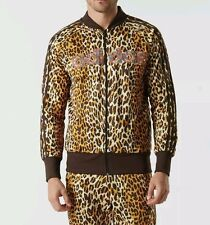$330 Adidas Originals ObyO Jeremy Scott LEOPARD SHISHA TRACK JACKET TOP AC1899