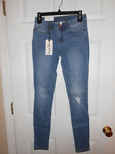 Ladies Chip & Pepper Skinny Jeans...Light Blue Denim...Pretorn...26...NWT
