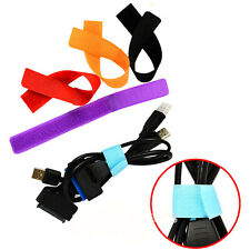 Strap Wrap Wire Line Organizer Cable Tie Rope Holder for Laptop PC Tools