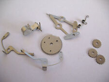 JAEGER LE COULTRE,JLC 219  ASSORTED ALARM MOVEMENT PARTS