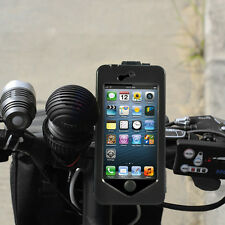 UK Waterproof Bike Bicycle Motorcycle Handlebar Mount Holder Case For iPhone