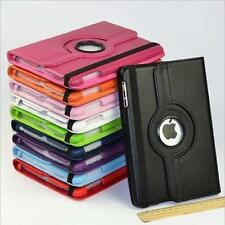 For Apple iPad Mini iPad Air PU Leather 360 Rotating Case Smart Cover Skin Stand