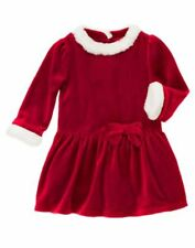 Gymboree Christmas Holiday Dress 2T NWT Sweet Treats Velour Retail Store