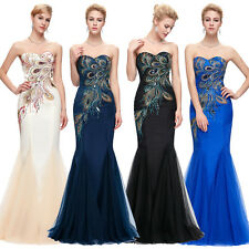 Sexy Mermaid Women Formal Prom Evening Party Cocktail Bridesmaid Ball Gown Dress