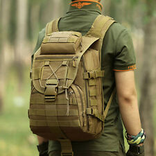 Men Large Capacity Tactical Military Hiking Pack Laptop Backpack School Outdoor