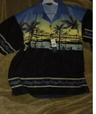 NWT PALMS OF PARADISE HAWAIIAN SHIRT choice of size S, M or L