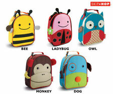 SKIP HOP ANIMAL ZOO LUNCHIES INSULATED LUNCH BAG - SKIPHOP - 5 TO CHOOSE FROM