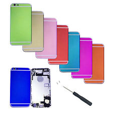 New Back Battery Door Cover Housing Frame Assembly For iPhone 6 4.7''Repair Part